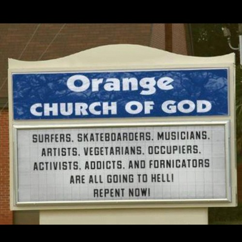 Hateful Christians