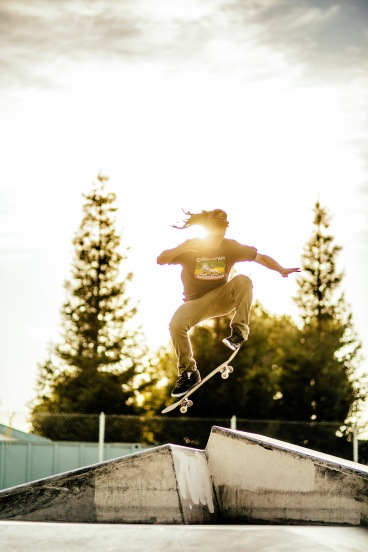 scotty Ollie Skatepark